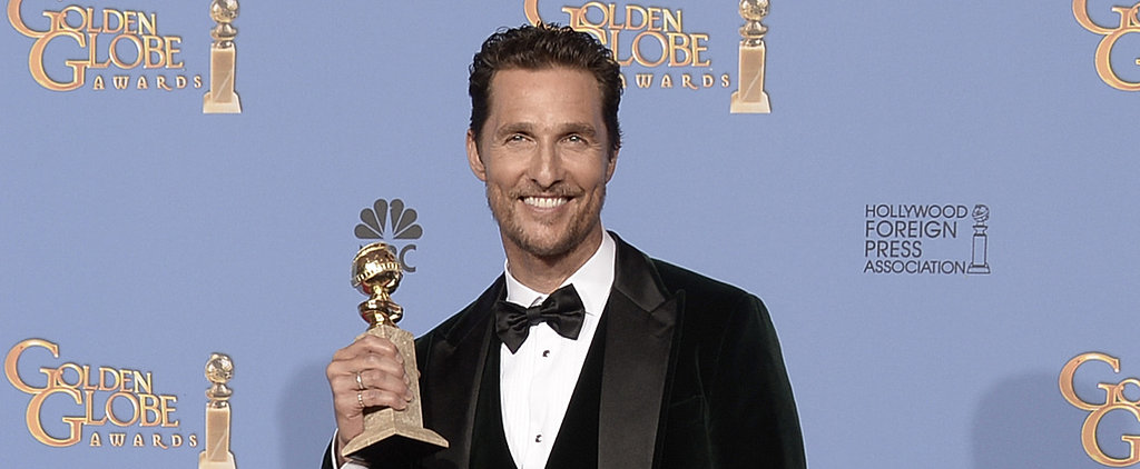 Matthew McConaughey Accepts His Globe in Familiar Form