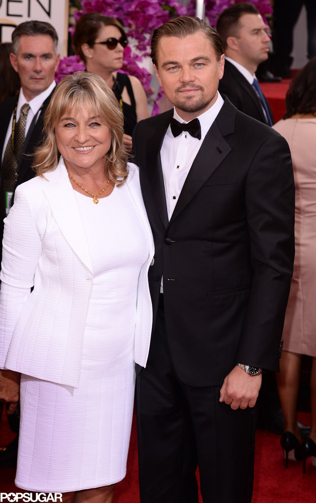 Leonardo DiCaprio brought his mom, Irmelin, as his lovely date to the Golden Globes. He also made sure to thank her when he accepted the award for best actor in a comedy.