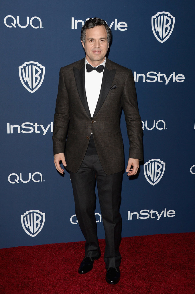 Mark Ruffalo attended the Golden Globes afterparty.