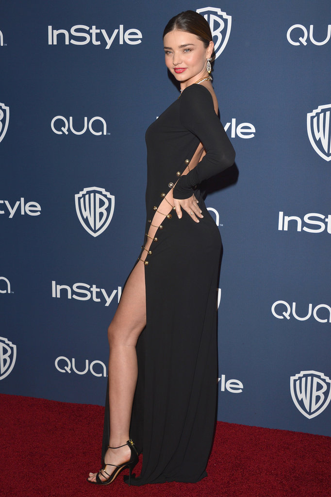 Celebrities at Warner Bros. Golden Globes Afterparty 2014