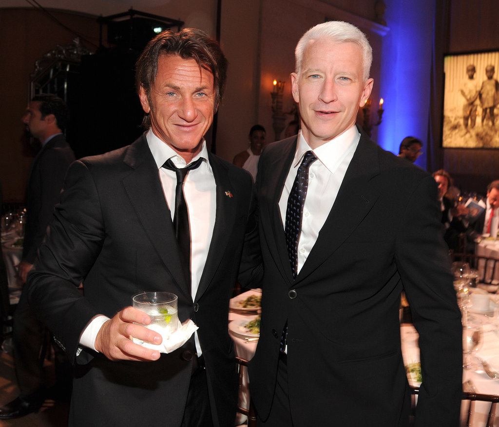 Sean met with Anderson Cooper at the event.