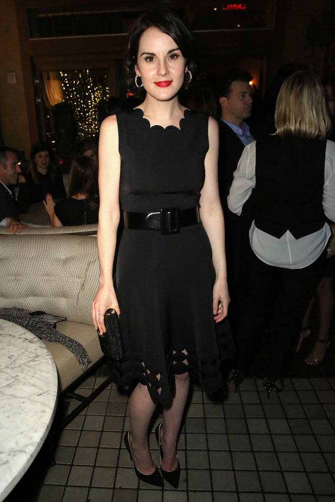 Michelle Dockery at HBO's Pre-Golden Globes Event