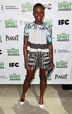 Lupita Nyong'o at the Spirit Awards Nominees Brunch