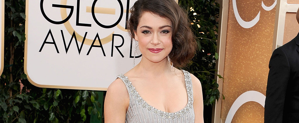 Tatiana Maslany's No Fashion Clone in Jenny Packham