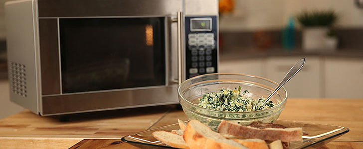 Spinach-Artichoke Dip Can Be Yours in 5 Minutes