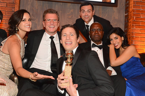 The Brooklyn Nine-Nine cast got silly with their Golden Globe at Fox and FX's afterparty.