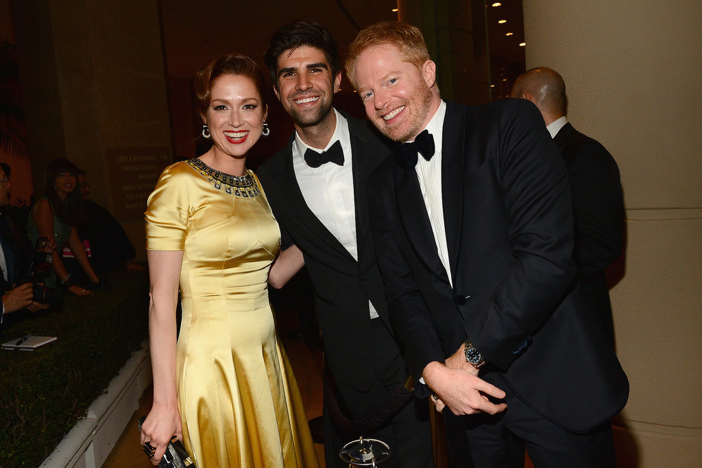 The Office star Ellie Kemper got close to Jesse Tyler Ferguson and his husband, Justin Mikita.