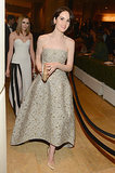 Michelle Dockery made a grand entrance.