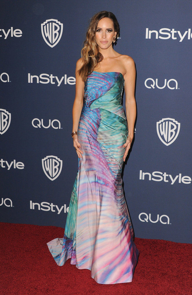 Louise Roe at the InStyle Golden Globes Afterparty