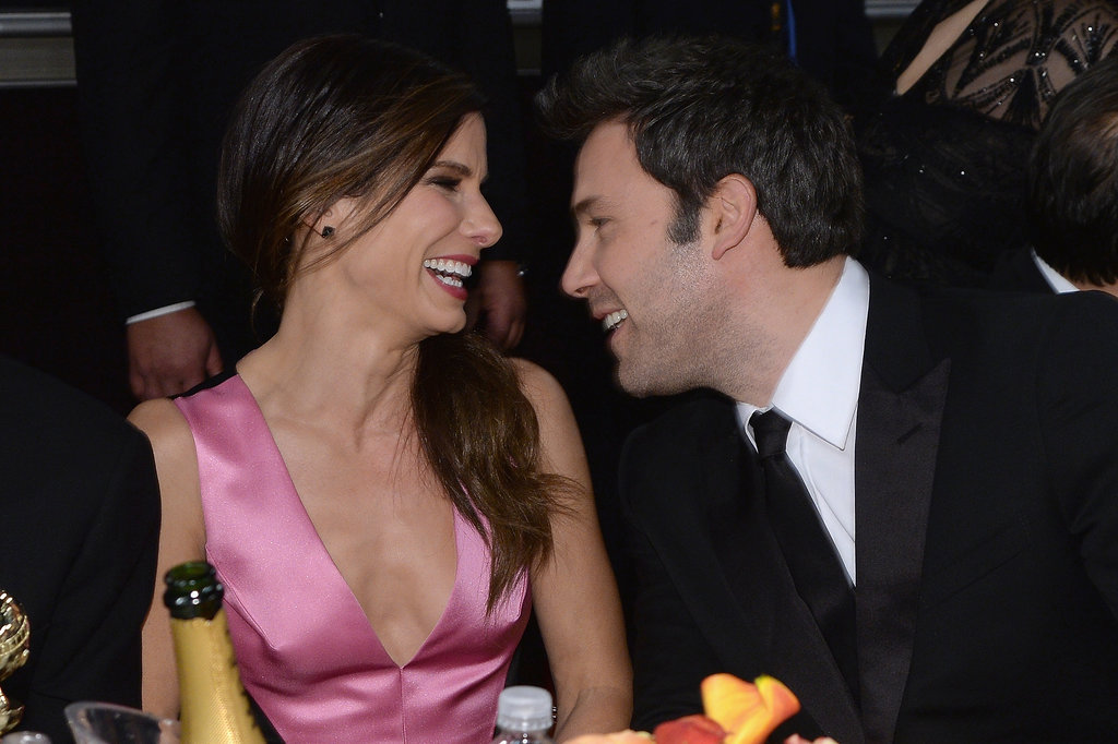 Sandra Bullock and Ben Affleck laughed and made us swoon.