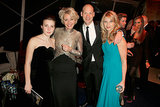 Emma Thompson and her daughter hung out with Corey Stoll from House of Cards.