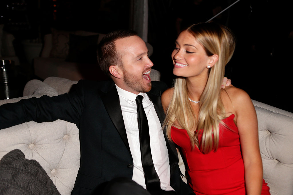 Aaron Paul and his wife, Lauren Parsekian, were just adorable.