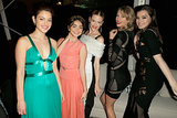 Odeya Rush, Taylor Swift, Sarah Hyland, Hailee Steinfeld, and Jaime King had a dance party.