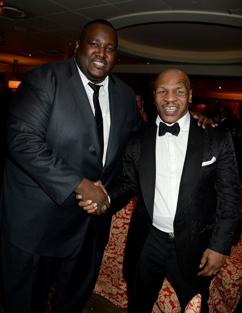 He Shook Hands With Quinton Aaron