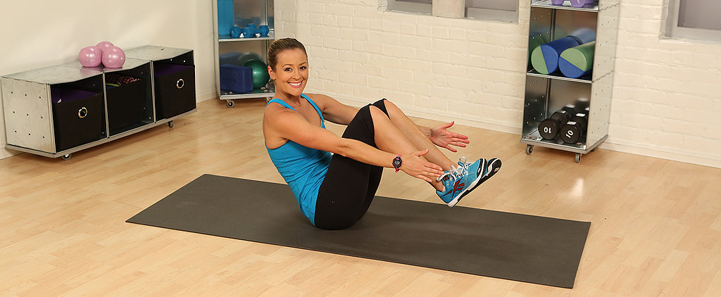 1-Minute Fitness Challenge: Atomic Crunch