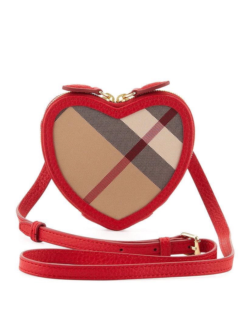 Burberry Girls' Heart Crossbody Bag