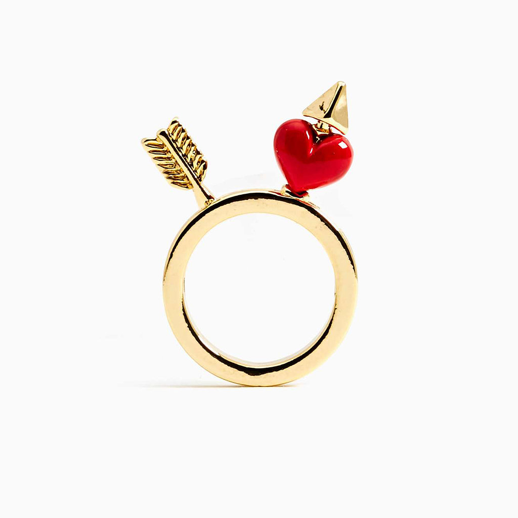 Nasty Gal Heart and Arrow Ring