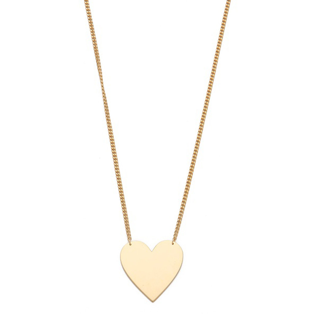 Jennifer Zeuner Heart Necklace