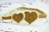 Gold Glitter Headband
