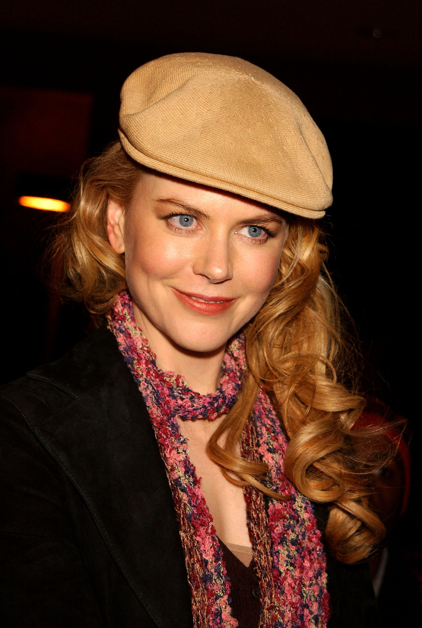 Nicole Kidman smiled at her Birthday Girl premiere at Sundance in 2002.