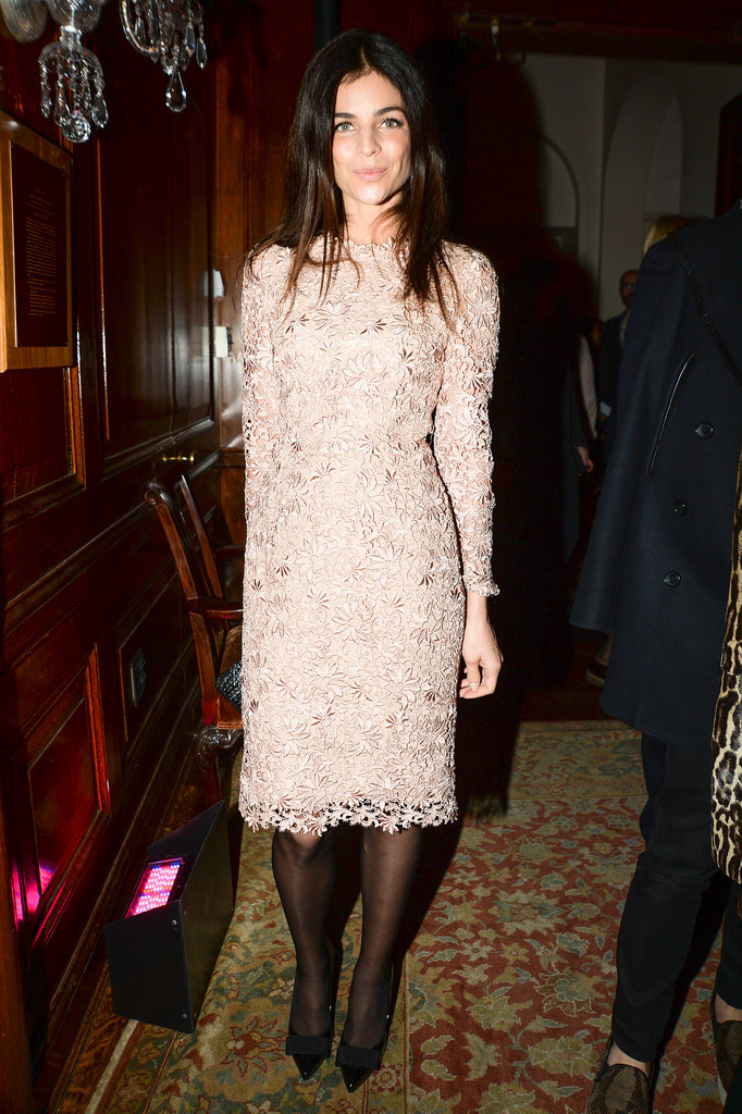 Julia Restoin Roitfeld at the Stella McCartney Pre-Fall 2014 presentation.