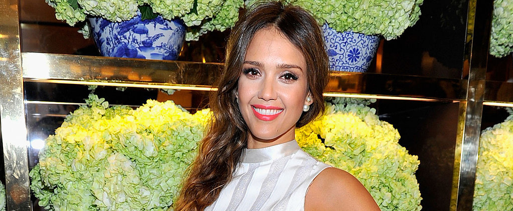 Wear Crop Tops During Winter? Jessica Alba Does!