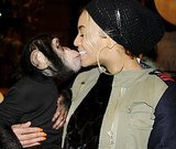 Beyoncé got cute with a monkey. Source: Tumblr user Beyoncé Knowles