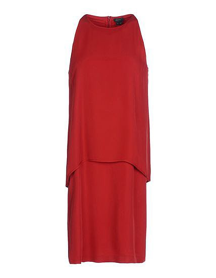 Theory Red Sheath Dress