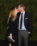 Drew Barrymore kissed Will Kopelman at the Chanel dinner for her book, Find It in Everything, in Beverly Hills on Tuesday.