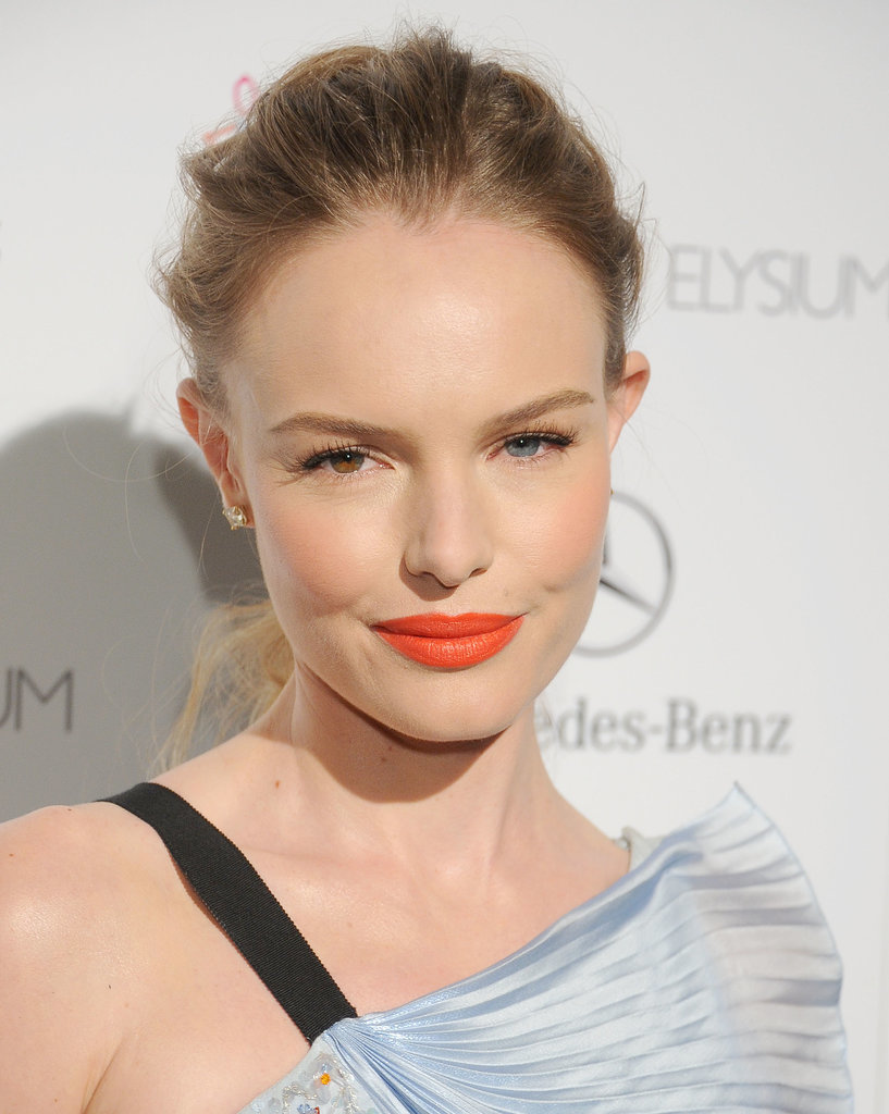 Orange Lipstick Is the Brightest Red Carpet Trend
