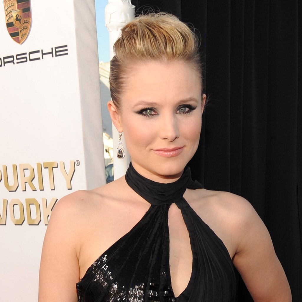 Kristen Bell Hair and Makeup at Critics' Choice Awards 2014