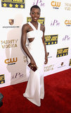 Lupita Nyong'o stole the show in her white cutout gown.