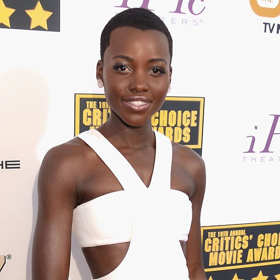 Lupita Nyong'o Hair and Makeup | Critics' Choice Awards 2014