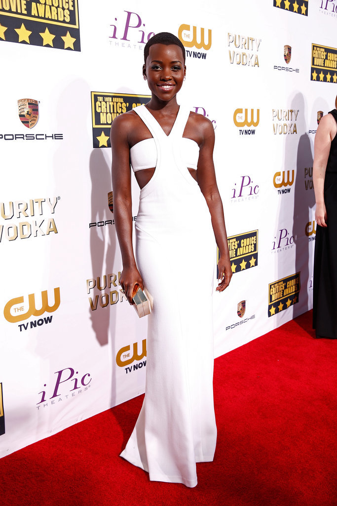 Lupita Nyong'o at the Critics' Choice Awards 2014