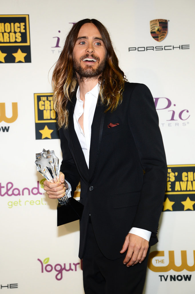 Jared Leto Wins Big and Smiles Even Bigger