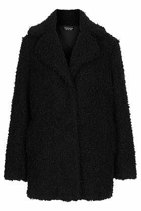 Teddy Fur Pea Coat