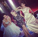 Alexa Chung, Pixie Geldof, and Kelly Osbourne made friend time a priority. Source: Instagram user kellyosbourne