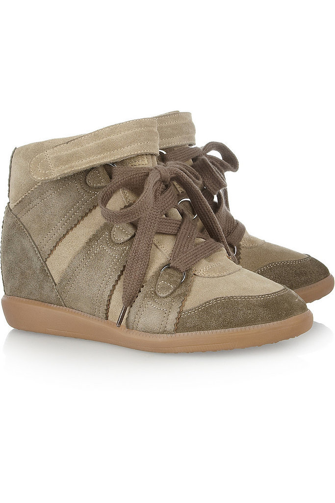 Isabel Marant Bluebel Suede Concealed Wedge Sneakers ($487, originally $695)