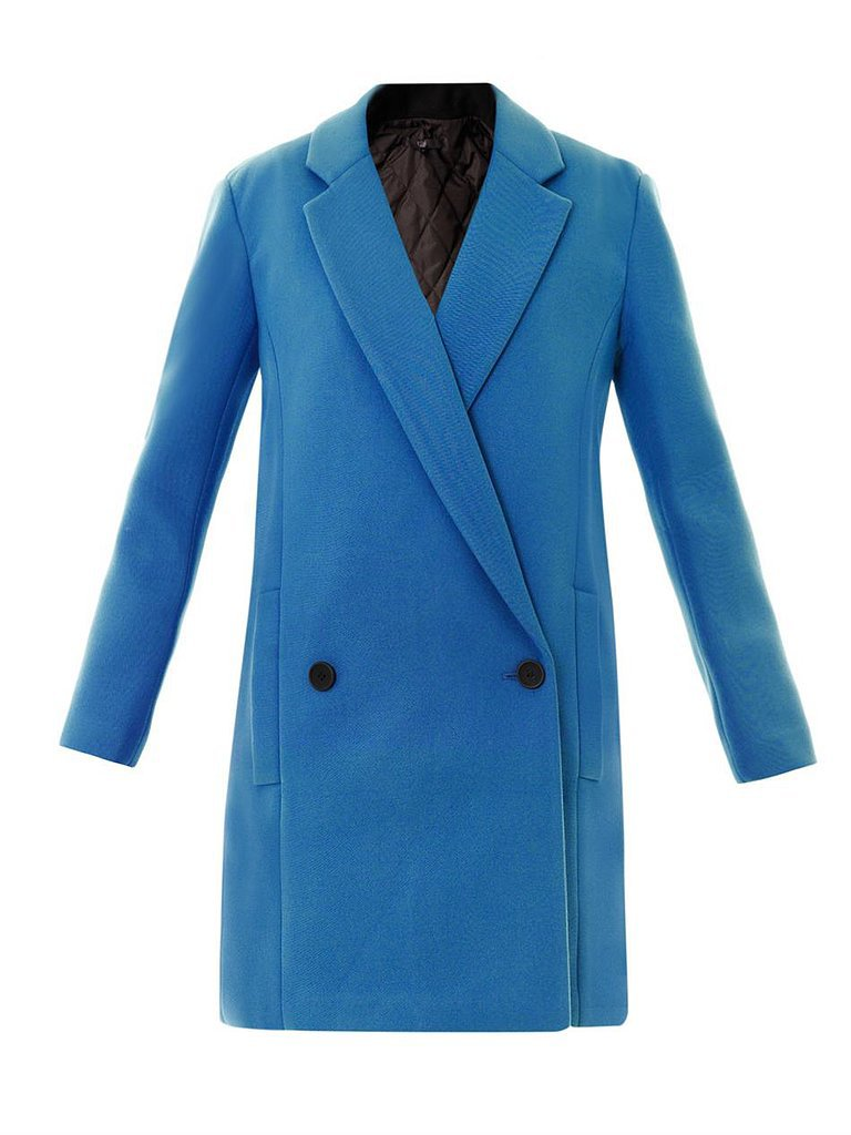 Tibi Double-Breasted Twill Coat ($418, originally $835)