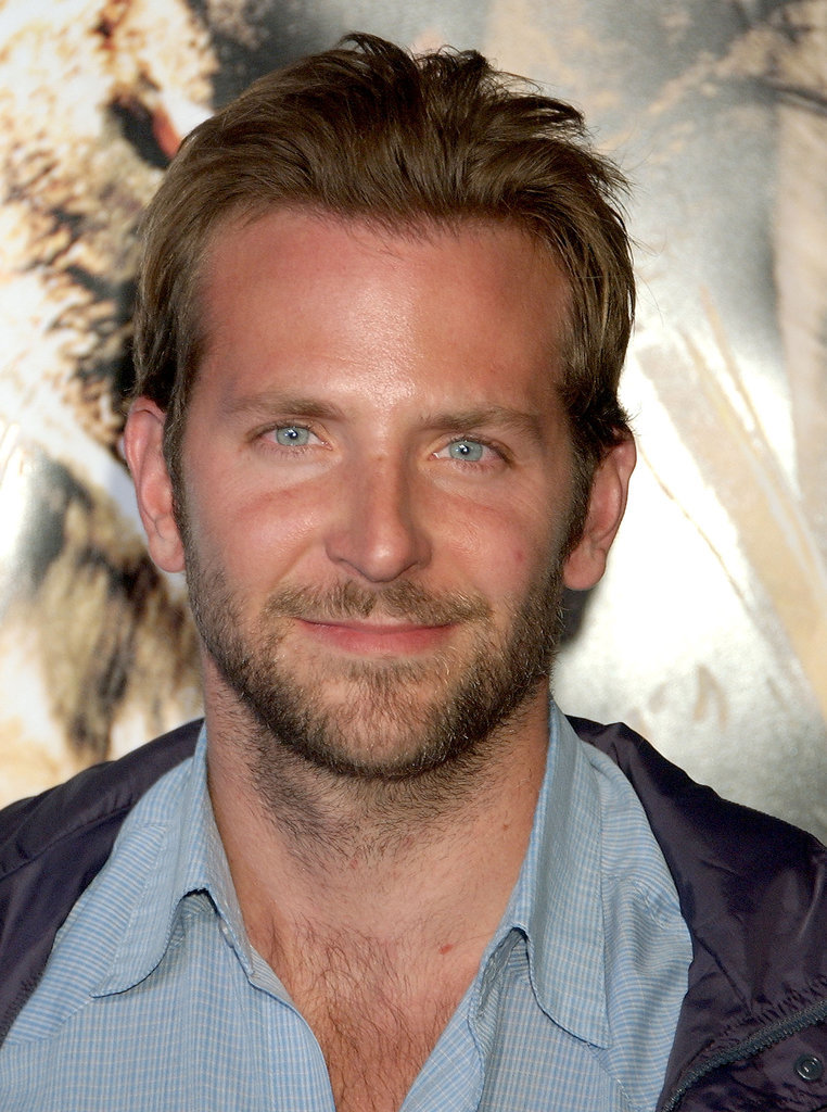 Face fuzz and superlong hair were quite dashing on Bradley at the premiere of 10,000 BC in 2008.