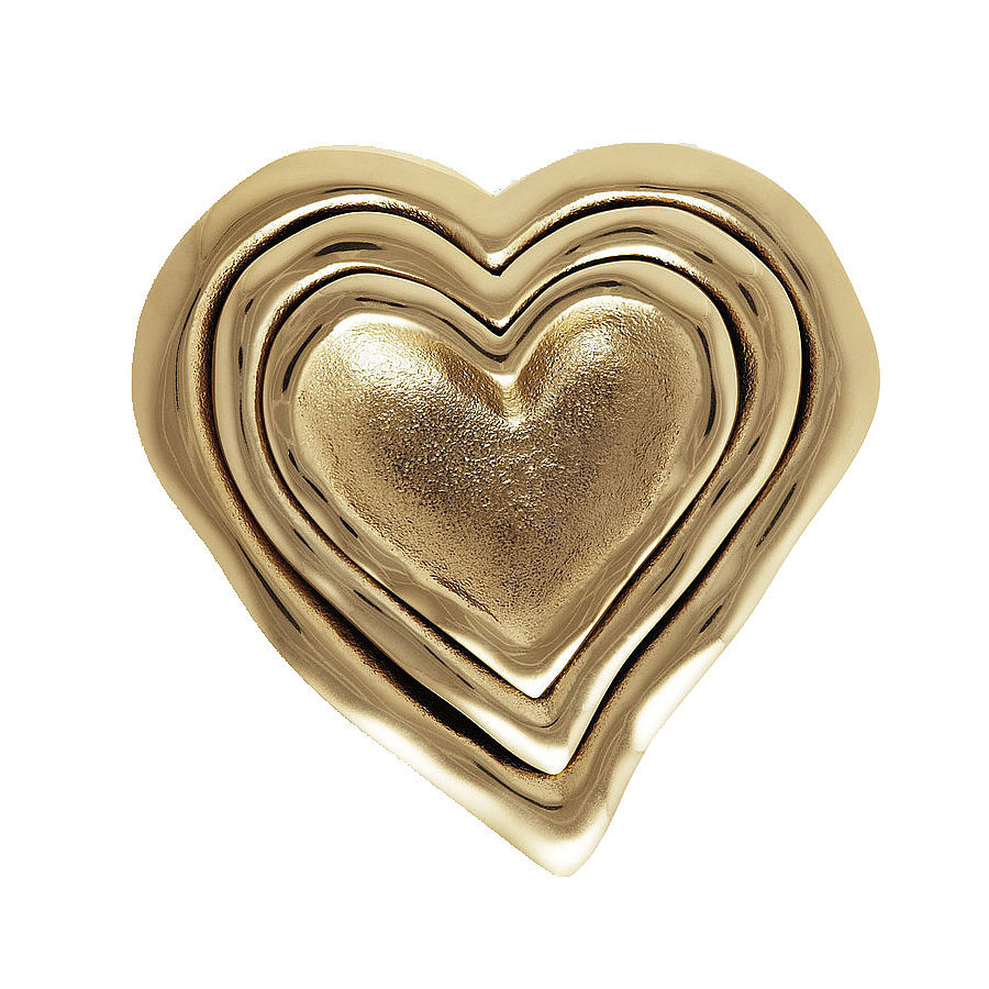 Sure, they're a splurge, but think how happy mom will be unwrapping these gold heart nesting dishes ($240).