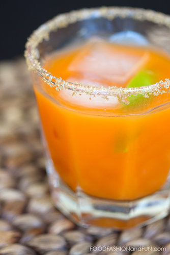 Tequila Carrot Cocktail