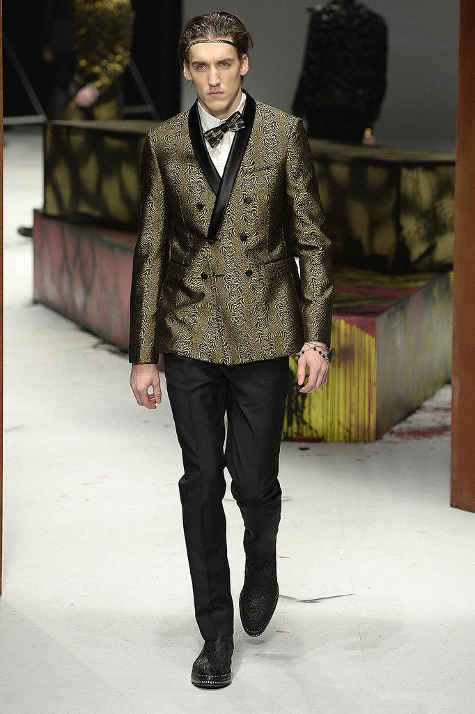 Roberto Cavalli Men's Fall 2014
