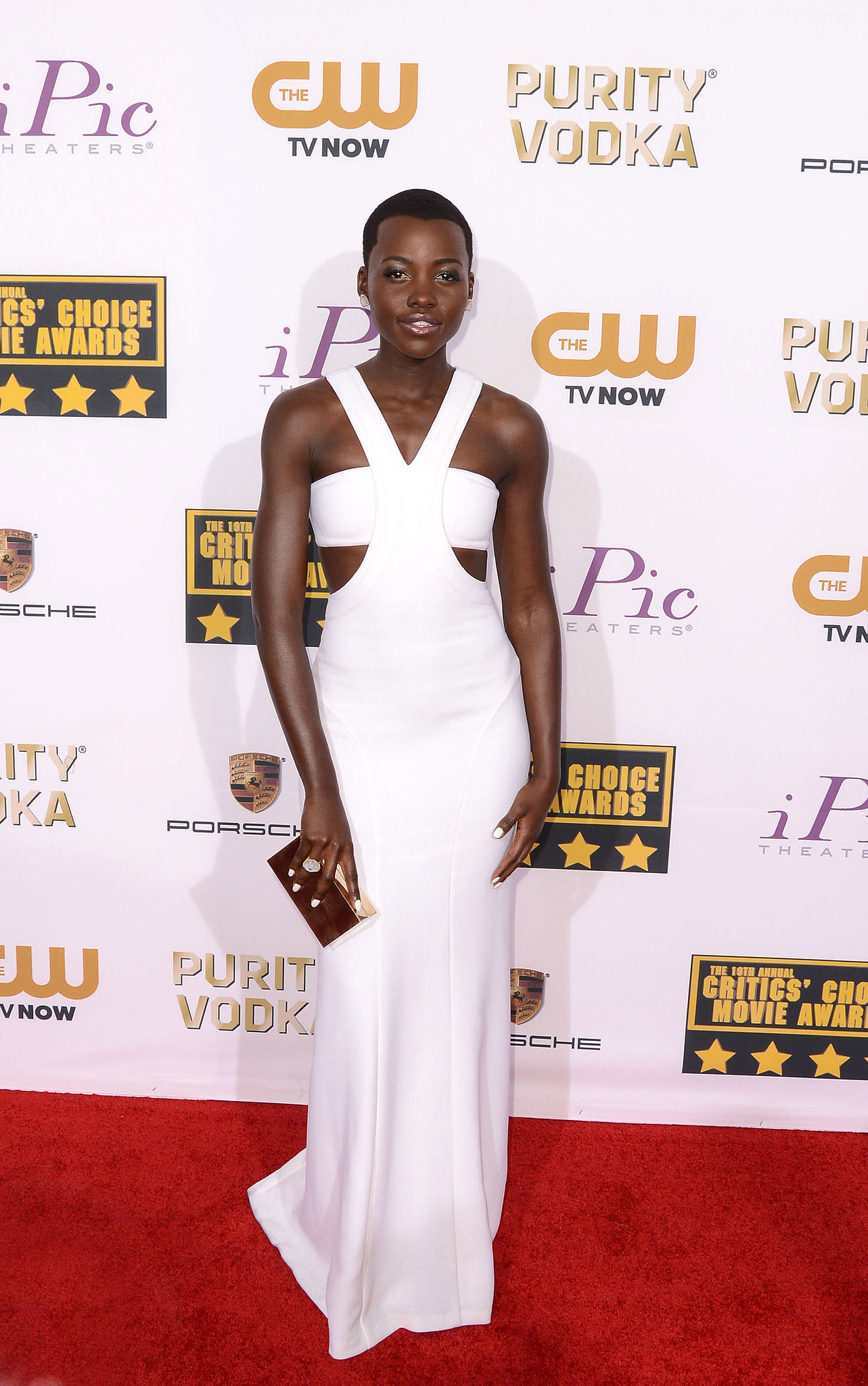 Lupita Nyong O At The Critics Choice Awards In Calvin