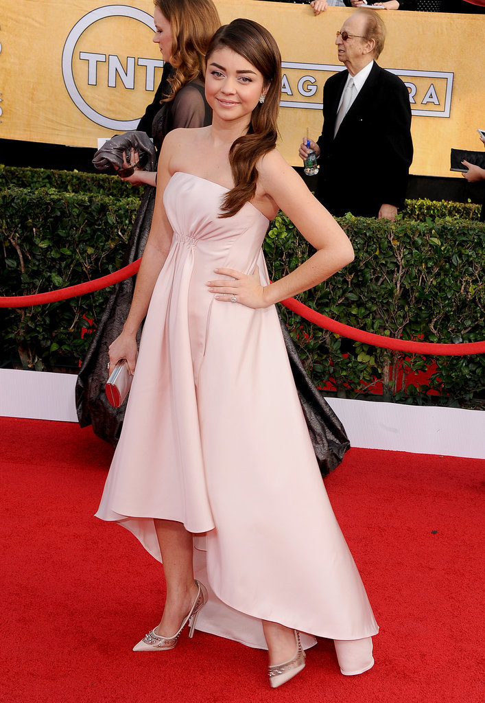 Sarah Hyland at the SAG Awards 2014