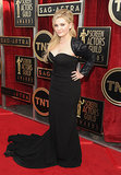 Abigail Breslin wore head-to-toe black.