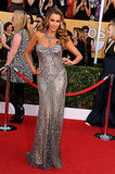 Sofia Vergara was a silver goddess in Donna Karan Atelier at the SAG Awards.