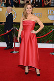 Sasha Alexander was a lady in red.