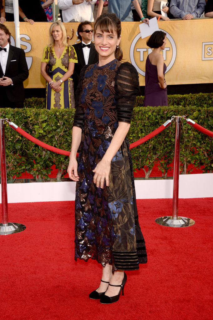 Amanda Peet at the SAG Awards 2014