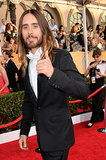 Jared Leto threw out a thumbs-up.